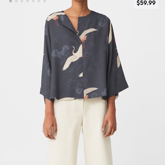 en pies tiros de los mejores precios precio asombroso Mango Tops | Printed Kimono Blouse | Poshmark